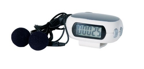 Sports Pedometer Radio