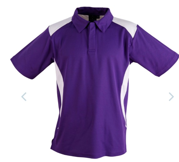 Mens TrueDry Short Sleeve Contrast Polo