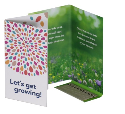 Seedstick 10'S Greeting Card