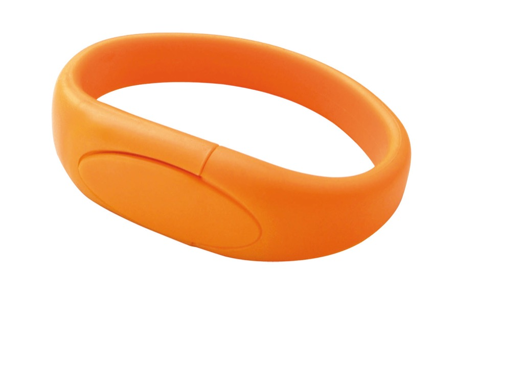 Silicon Band Usb Braclet
