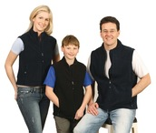Mens Bonded Polar Fleece Vest
