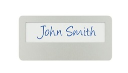 Aluminium Name Badge