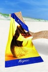 Medium Fibre Printed Beach Towel