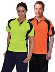 Mens CoolDry Safety Polo with Underarms mesh