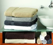 Plush Bath Towel Range