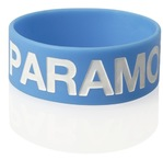 Extra Wide Silicone Wristband w/Colour Infill