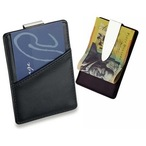 Leather Look Business Card Holder