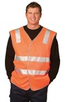 High Visibility Safety Vest With Reflective Tapes
