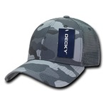 Structured Camo Trucker Cap