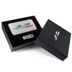 Superior  Gift Set - Matrix Power Bank and Swivel Flash Drive