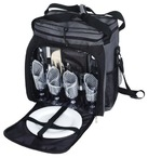 Corniche 4Pc Shoulder Picnic Bag