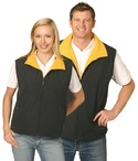 Shower Proof Micro Fibre / Polar Fleece Reversible Vest (Unisex)