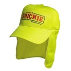 Luminescent Safety Cap With Flap - Legionnaire