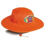 Luminescent  Safety Hat  With Chin Strap & Toggle