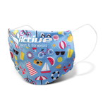 Reusable Face Mask Full Colour - Small